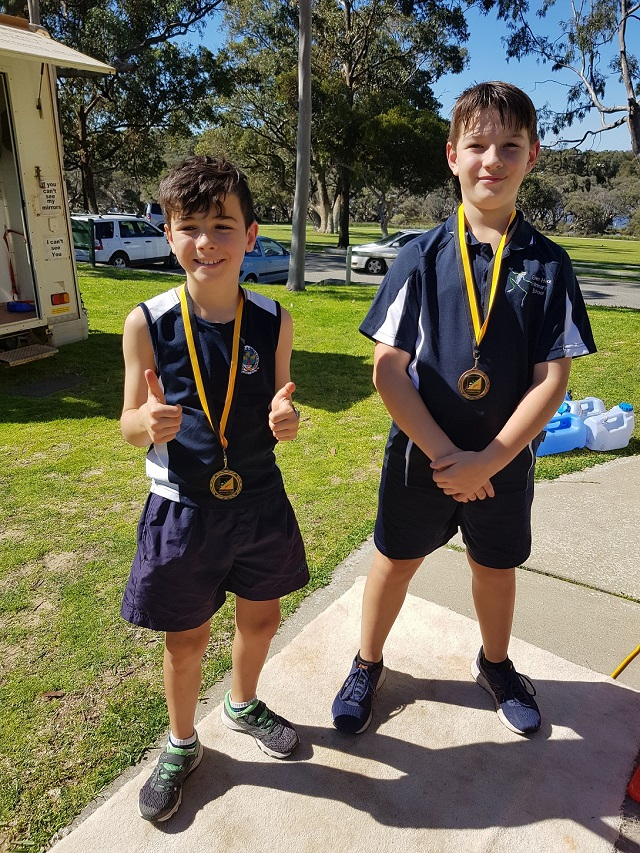 20190821 Nic and Hayden Warton Primary school champs